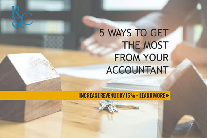 Roberts & Cowling - 5 Ways Get the Most from Your Accountant