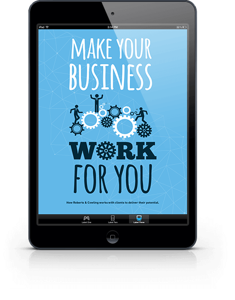 Roberts & Cowling - Make Your Business Work For You Success Guide Ipad
