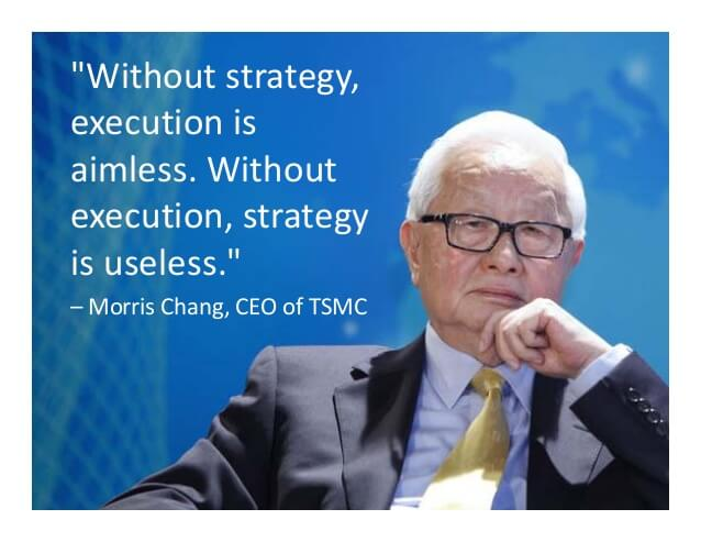 Roberts & Cowling - Morris Chang Strategy Execution